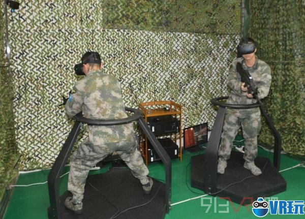 国内首款跨平台对抗军事VR《强军》研发成功