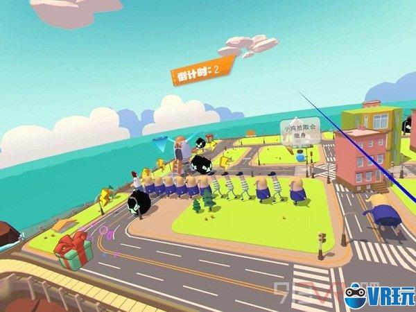 一款并不简单的VR休闲游戏:《人类拯救计划》试玩体验