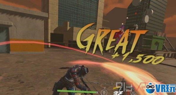 VR游戏《Gungrave VR》拿起双枪疯狂射击吧