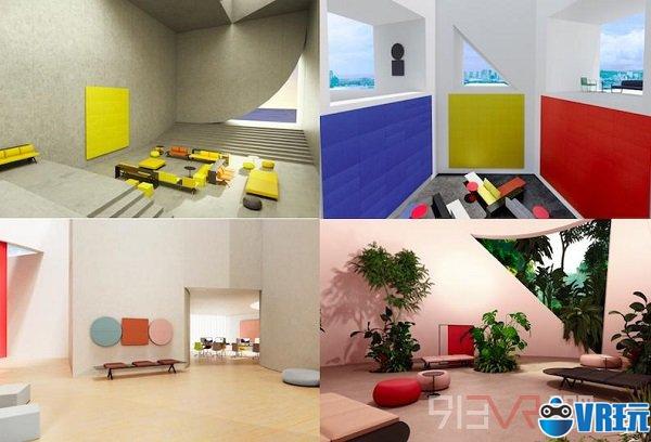 Arper通过VR体验推出新家具系列
