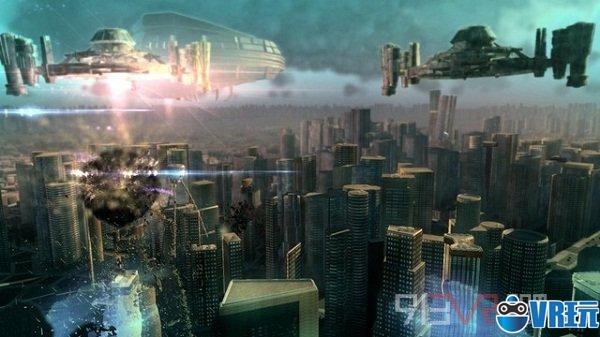 VR游戏《Megaton Rainfall》抵抗外星人的入侵