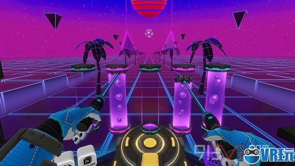 VR音乐游戏《Electronauts》8月7日正式上线