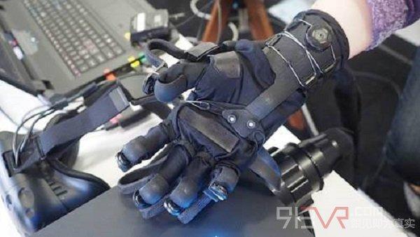 VR触觉感知技术正不断地进步