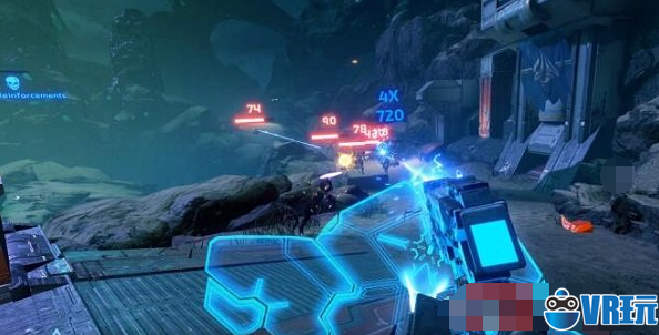 第一人称射击VR游戏《Evasion》引入街机风格的评分系统