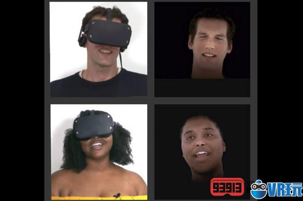 "Facebook正在开发实时VR面部动画系统""Codec Avatars"""