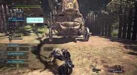 怪物猎人世界冰原剑斧后侧步强化射击技巧使用攻略